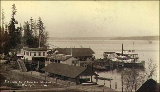 Leschi Park at the foot of Yesler Way,  Seattle, Washington, ca. 1892.