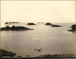 Islands in Sitka harbor, Alaska, ca. 1897.