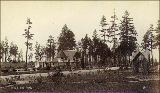 Cottage in Guy C. Phinney's Woodland Park, Seattle, Washington, ca. 1892.