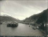 Skagway from the water, Alaska, ca. 1897.
