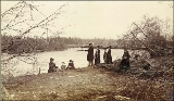 Cassells Point, Duwamish River, Washington, ca. 1891.