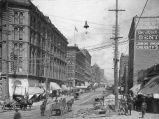 2nd Ave. looking north from Yesler Way, Seattle, Washington, ca.1895