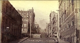 Columbia St. from 1st Ave., Seattle, Washington, ca. 1891.