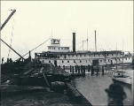 Steamer STATE OF WASHINGTON at the Puget Sound Wire and Nail Company dock, Everett, Washington,...