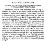 Notes and Documents: Journal of a Voyage on Puget Sound in 1853 by William Petit Trowbridge