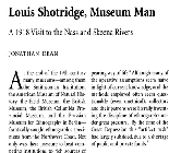 Louis Shotridge, Museum Man: A 1918 Visit to the Nass and Skeena Rivers