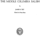 The middle Columbia Salish