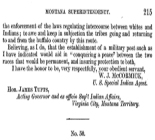 Report of S. D. Howe, Indian Agent, Washington Territory