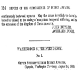 No. 28Report of E. Steele, concerning arrangement with sundry tribes of Indians