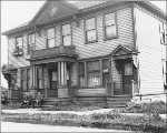 Apartments at 2701-2705 Western Ave., Seattle, Washington, 1909.