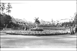 Grounds at the Alaska Yukon Pacific Exposition, Seattle, Washington, 1909.