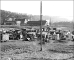 Shantytown known as Hooverville southeast of 8th Ave. S., Seattle, Washington, February 7, 1933.