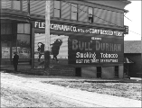 Fred McCoy & Co., grocers, at 2131 Western Ave., Seattle, Washington, May 19, 1909.