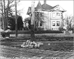 House at 31st Ave. S. and S. Judkins St., Seattle, Washington, December 22, 1909.