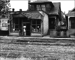 House and business at 712-715 12th Ave., Seattle, Washington, October 9, 1909.