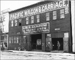 Pacific Wagon and Carriage Co. at 2224-28 Western Ave., Seattle, Washington, May 19, 1909.