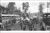 Paystreak with restaurants and amusements on the grounds of the Alaska Yukon Pacific Exposition,...
