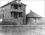 Houses at 307 7th Ave. N., Seattle, Washington, April 12, 1911.