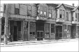 Businesses at 701-705 7th Ave. between Cherry St. and Columbia St., Seattle, Washington, May 20,...