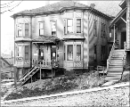 Boarding house on north side of Columbia St. between 4th Ave. and 5th Ave., Seattle, Washington,...