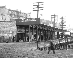 Businesses at Virginia St. and Western Ave., Seattle, May 19, 1909.