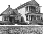 Houses at 319-325 8th Ave. N., Seattle, Washington, April 12, 1911.