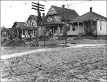 Residences at 7th Ave. W. and W. Crockett St., Seattle, Washington, 1912.