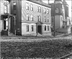 Buildings at 502 5th Ave., Seattle, Washington, December 2, 1909.