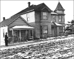 Residences at 22nd Ave. S. and S. Jackson St., Seattle, Washington, January 11, 1911.