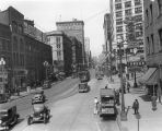 Northern view of 2nd Ave. from Washington St., Seattle, Washington, April 11, 1930