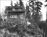 House on north side of Ravenna Park., Seattle, Washington, October 26, 1910.