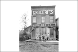 Grocery store at northwest corner Dexter Ave. and Harrison St., Seattle, Washington, April 12,...