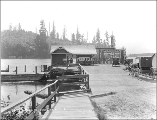 Bellevue Ferry Landing, Meydenbauer Bay, Washington, May 30, 1914.
