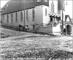 Our Lady of Good Hope Church at southeast corner of 5th Ave. and Jefferson St., Seattle,...