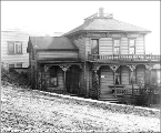 Boarding house on the south side of Terrace St. between 5th Ave. and 6th Ave., Seattle,...