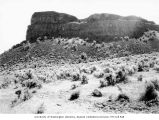 Rock formation known as The Sphinx, Dry Falls State Park, May 14, 1938