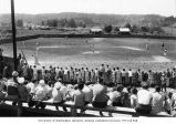 Bainbridge Island Boys Baseball Club during a game, May 17, 1958