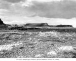 Storm over Battleship Rock, Dry Falls State Park, July 3, 1938