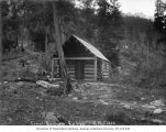 Forest Rangers Cabin No. 3 at Railroad Creek, Chelan County, ca. 1910
