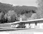 Mt. Baldy viewed from the Indian Valley Motel, May, 1961