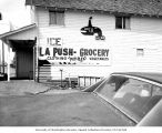 La Push Grocery, Clallam County, 1970