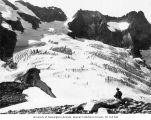 Fremont Glacier at the North Fork of Bridge Creek, Mount Logan, Skagit County, 1910