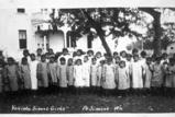 Yakima School girls, Fort Simcoe, Washington