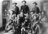 Spokane & Skitswish family group (members of the Garry family), Washington, 1887