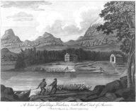 Tlingit men, Goulding Harbor, Chichagof Island, Alaska, in engraving made 1787
