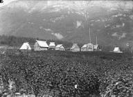 Chilkat graves at Klukwan, Alaska, 1894