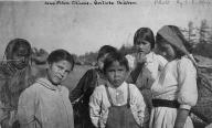 Quileute children pose for photo, Washington, ca. 1907