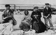 Skagit man called Snaklum Charlie with family, Coupeville, Washington, ca. 1910