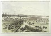 Fort Vancouver, Washington, in engraving made Nov. 1850