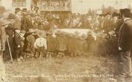 Indian gambling game, Treaty Day Celebration, Tulalip, 1912